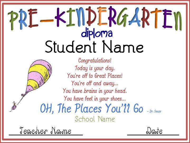 dr seuss theme pre k graduation prekindergarten graduation by