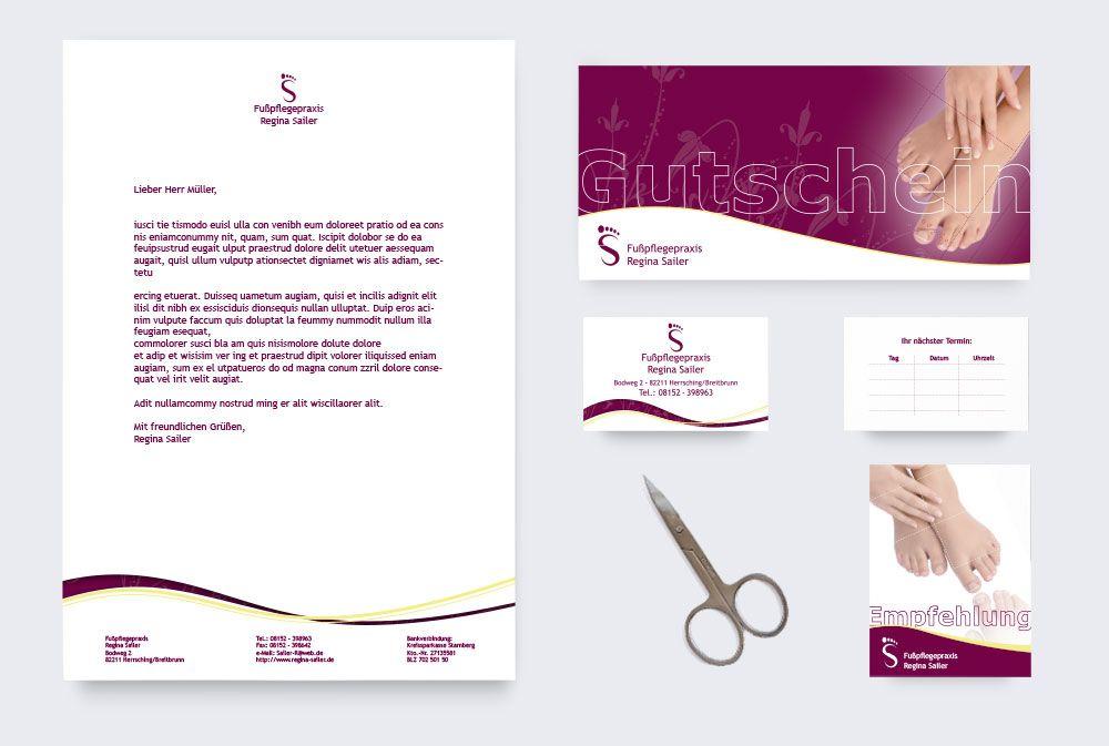Feminines Corporate Design Branding Logo Design