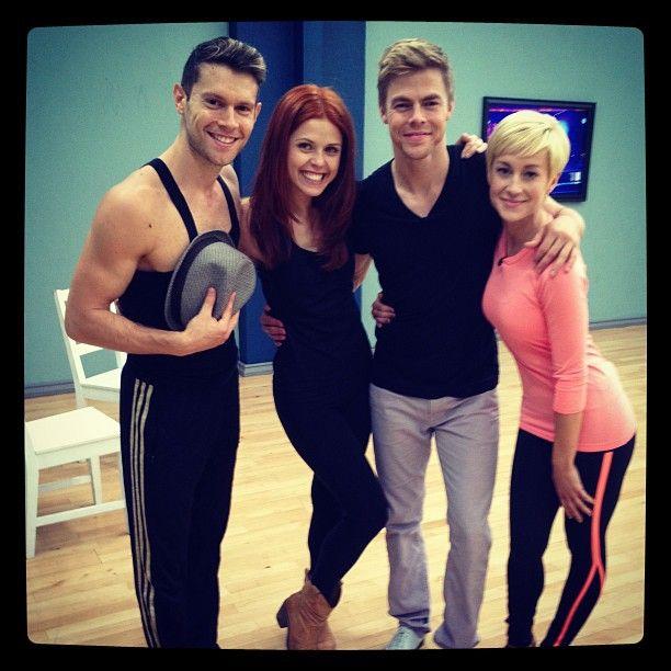 GO Team! #dwts @dancingabc @derekhough @atrebunskaya @kelliepickler via Henry Byalikov