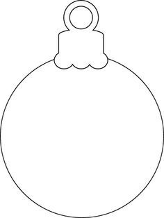 picture relating to Printable Ornaments Template titled Xmas Ornament cricut recommendations Xmas ornament