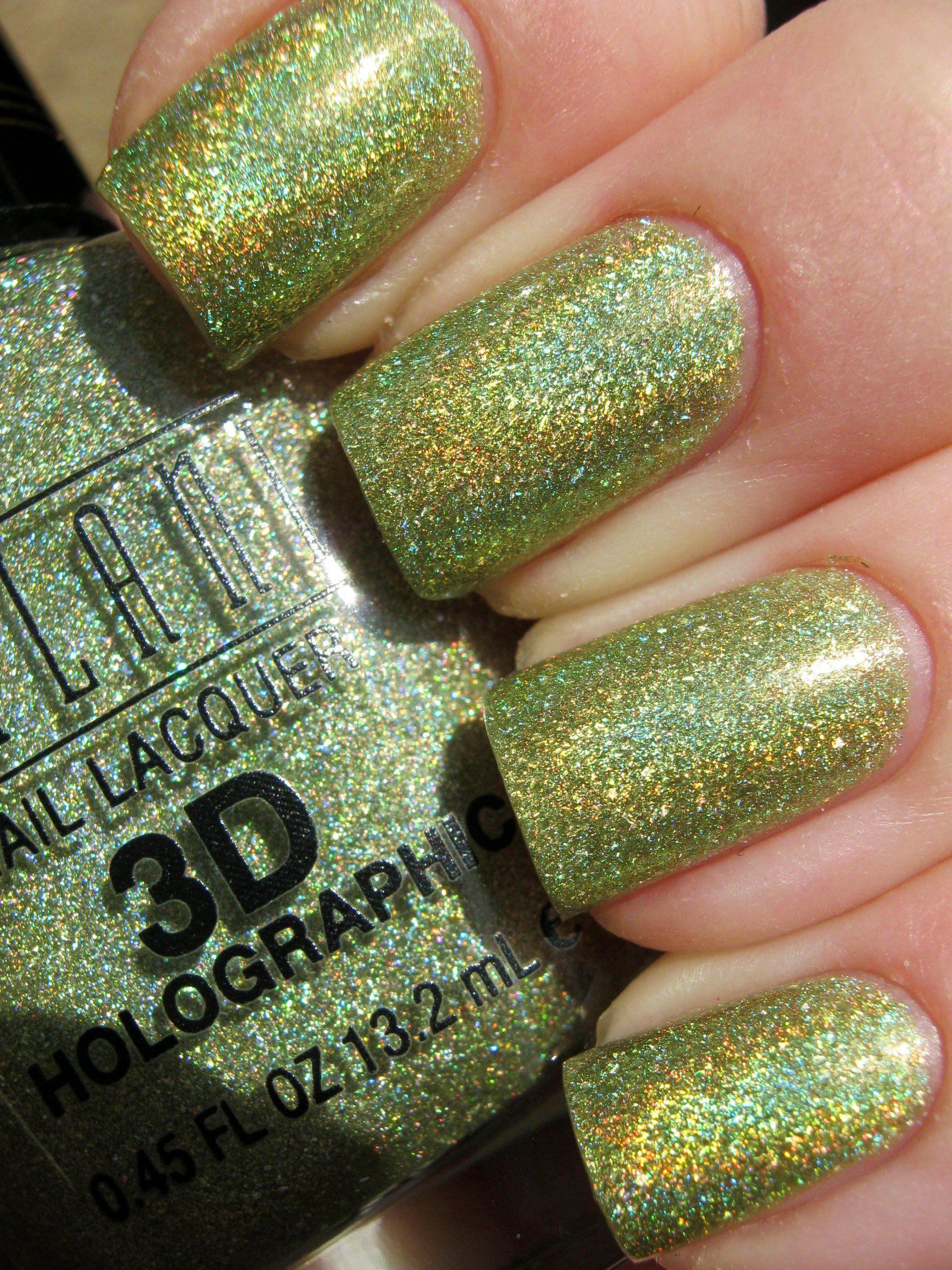 tinkerbell nail color by milani   Disney Princesses-Portfilio ...