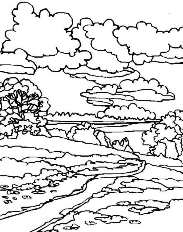 Awesome Landscapes View Coloring Pages   Super coloring ...