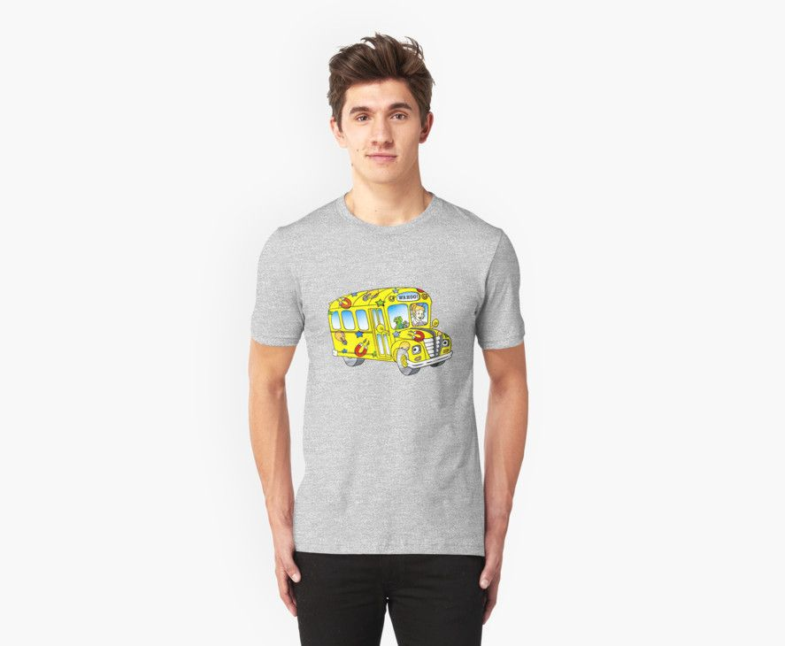 'The magic school bus' T-Shirt by ghjura