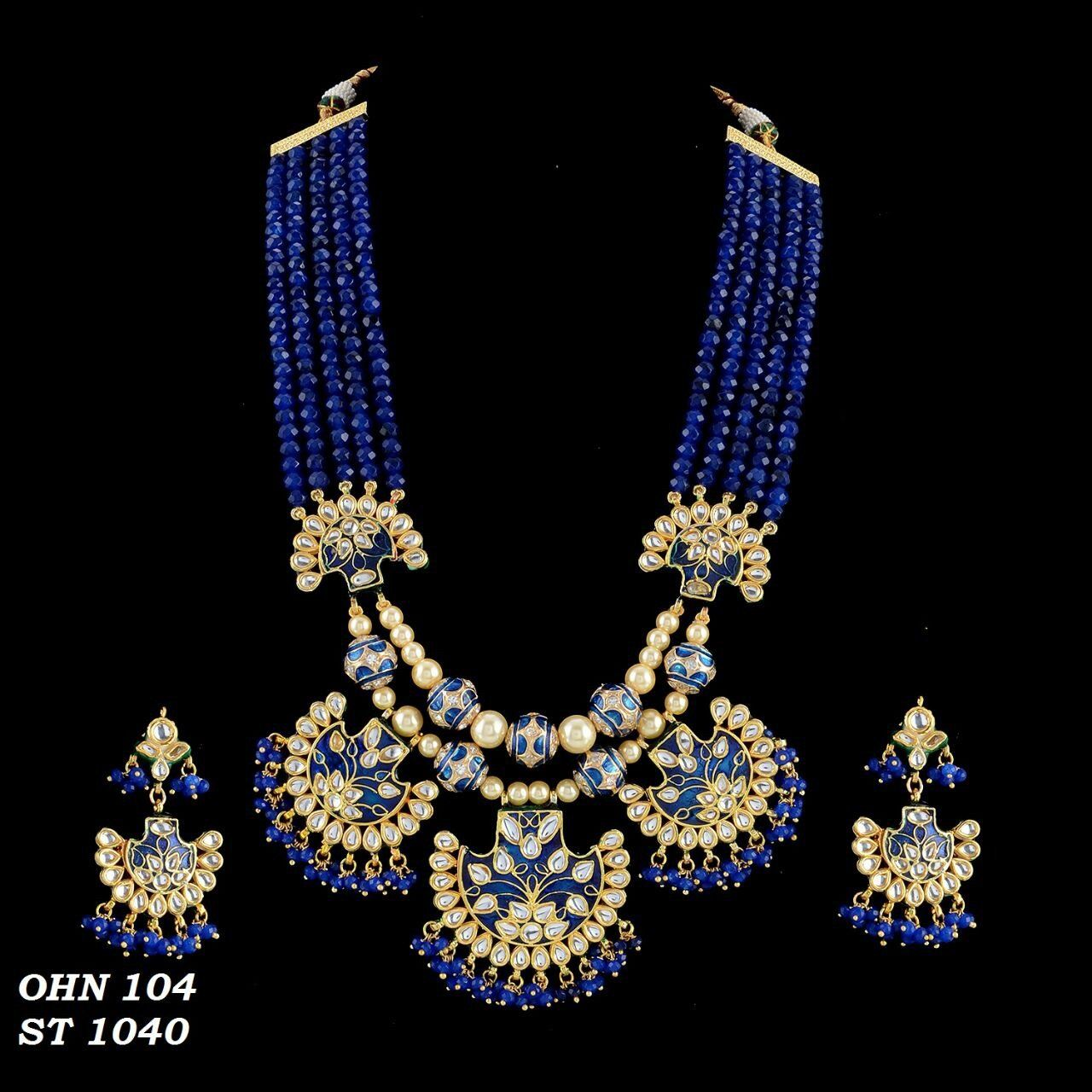 Beads and kundan set Beads and Products