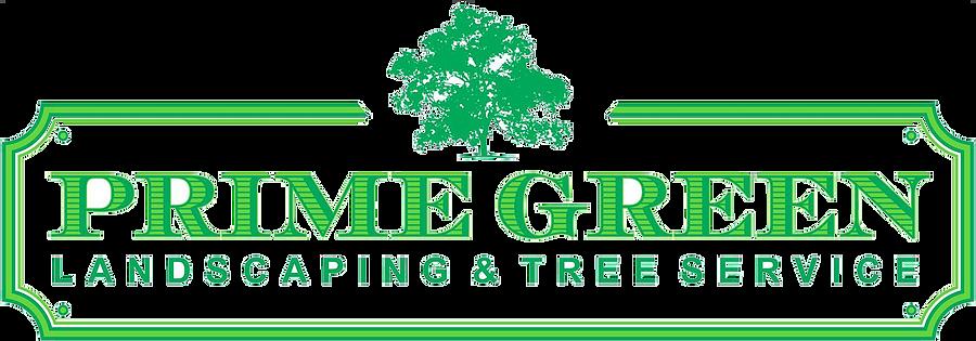 Prime Green Logo Tree service, Green logo, Landscaping trees