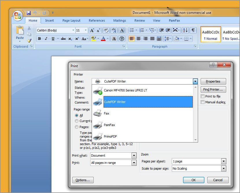 Windows 7 скачать драйвер принтер adobe pdf