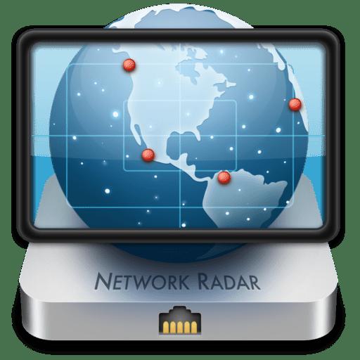 Network Radar Cracked DMG Mac application, Network tools