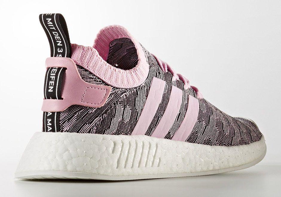 adidas NMD R2 Womens Pink Black BY9521 | SneakerNews.com | Adidas ...