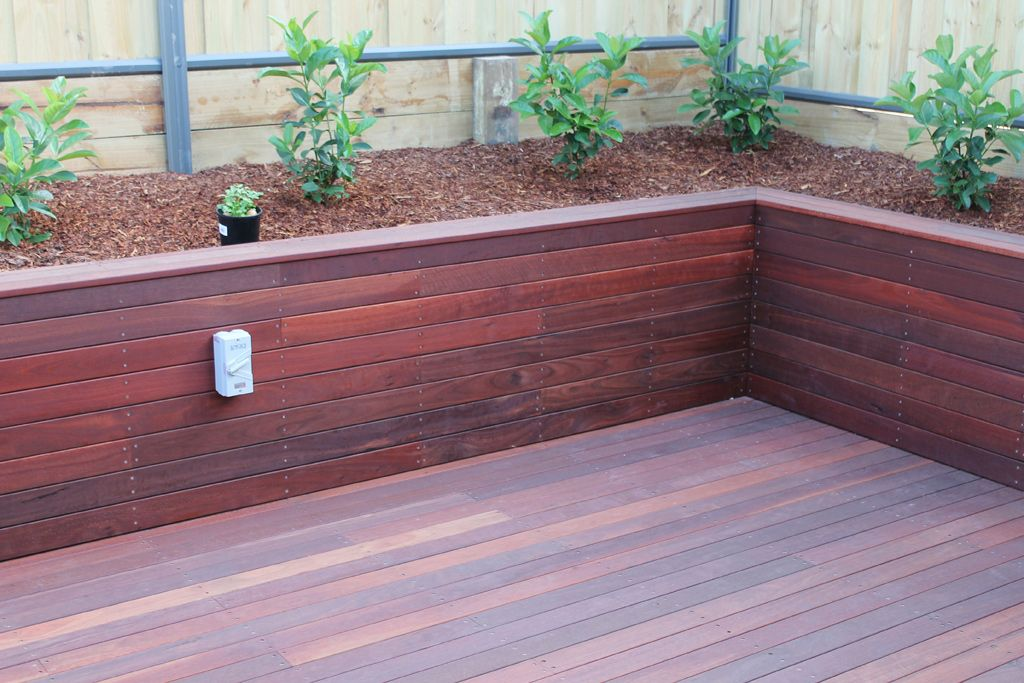 building your own retaining wall ideas google search - Timber Retaining Wall Designs