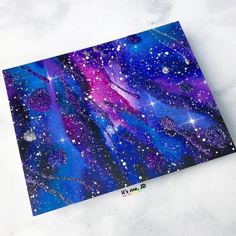 5 More Easy Ways To Create A Diy Galaxy Background Galaxy Background Diy Galaxy Crafts