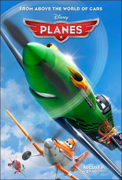Disney S Planes Voice Cast Revealed And New Poster In Theaters On August 9th Planes Movie Disney Planes Disney Planes Birthday
