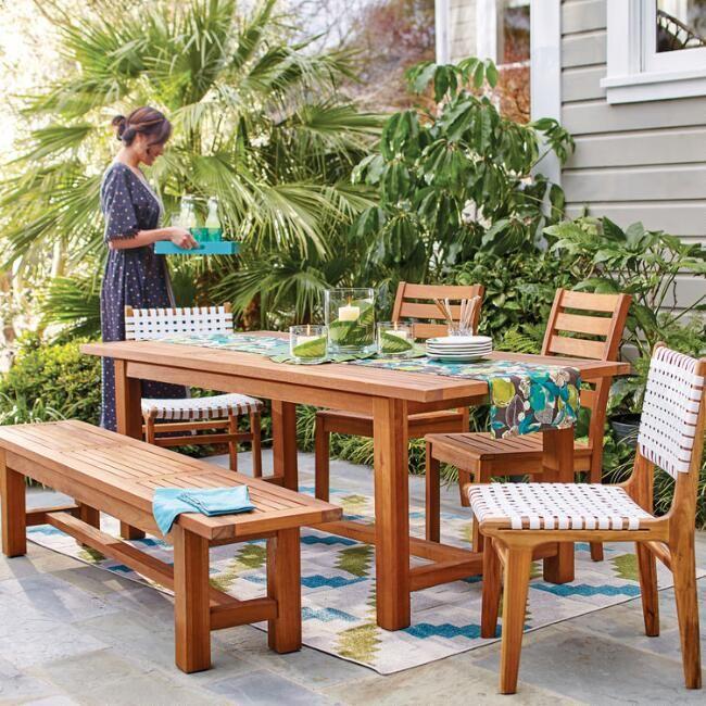Wood Praiano Outdoor Dining Table Buy Outdoor Furniture Outdoor