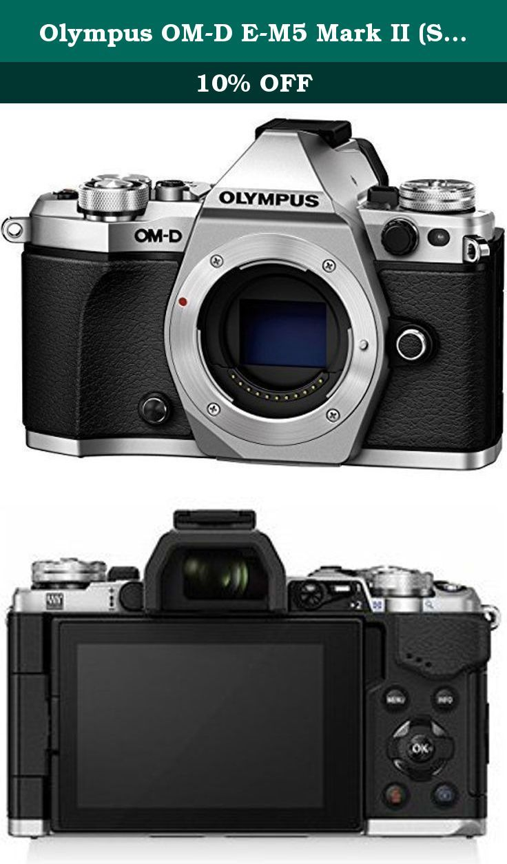 Olympus Om D E M5 Mark Ii Silver Body Only With Electronic Flash International Version No Warranty The New Om D E M Image Stabilization Camera Lens Vcm