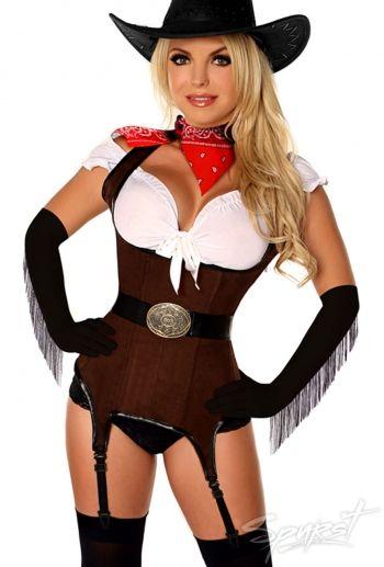 Sexy Cowgirl Halloween Kostüm