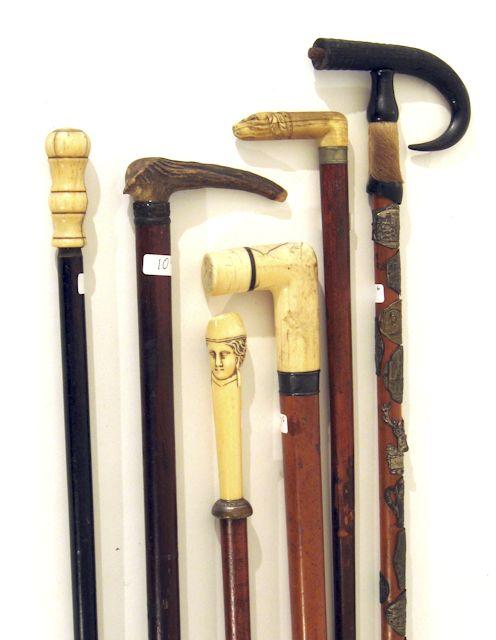 Antique Walking Canes Cane Stick