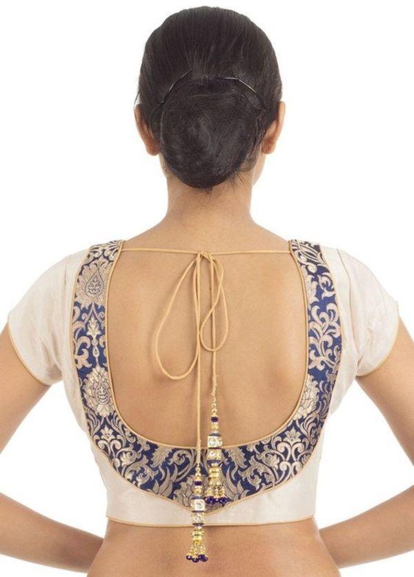 30 Designer Blouse Back Neck Design Catalogue Trendy Blouse Designs Fashion Blouse Design Fancy Blouse Designs