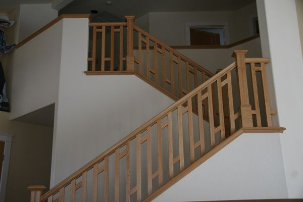 Best Craftsman Style Handrail With Images Stairs Craftsman 640 x 480