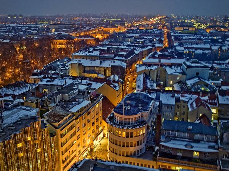 Zagreb By Night Photo By Vesna Spoljar Paris Skyline Croatia Photo
