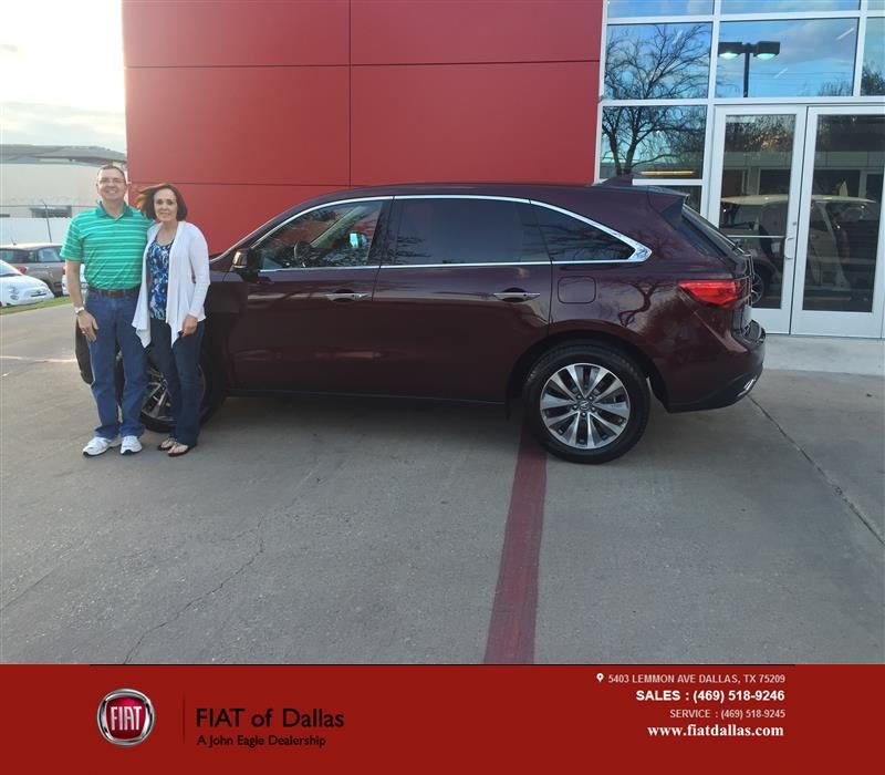 Congratulations Todd On Your #Acura #MDX From Donald
