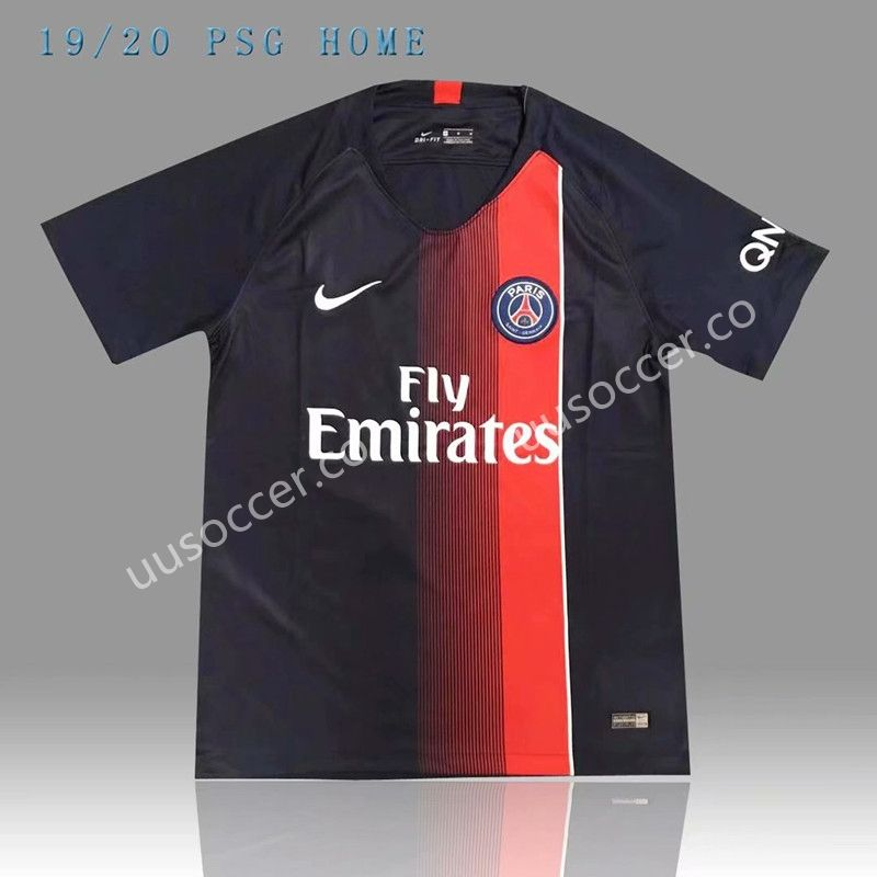 ... 2019-2020 Paris SG Home Blue Thailand Soccer Jersey AAA Sales ...  unique  2018-19 ... 3c2271c9b