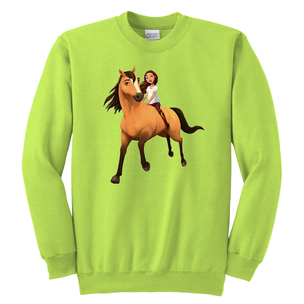 f0cc6d4c4 Kids DreamWorks Spirit Riding Free - Lucky & Spirit T-Shirt | Kids ...