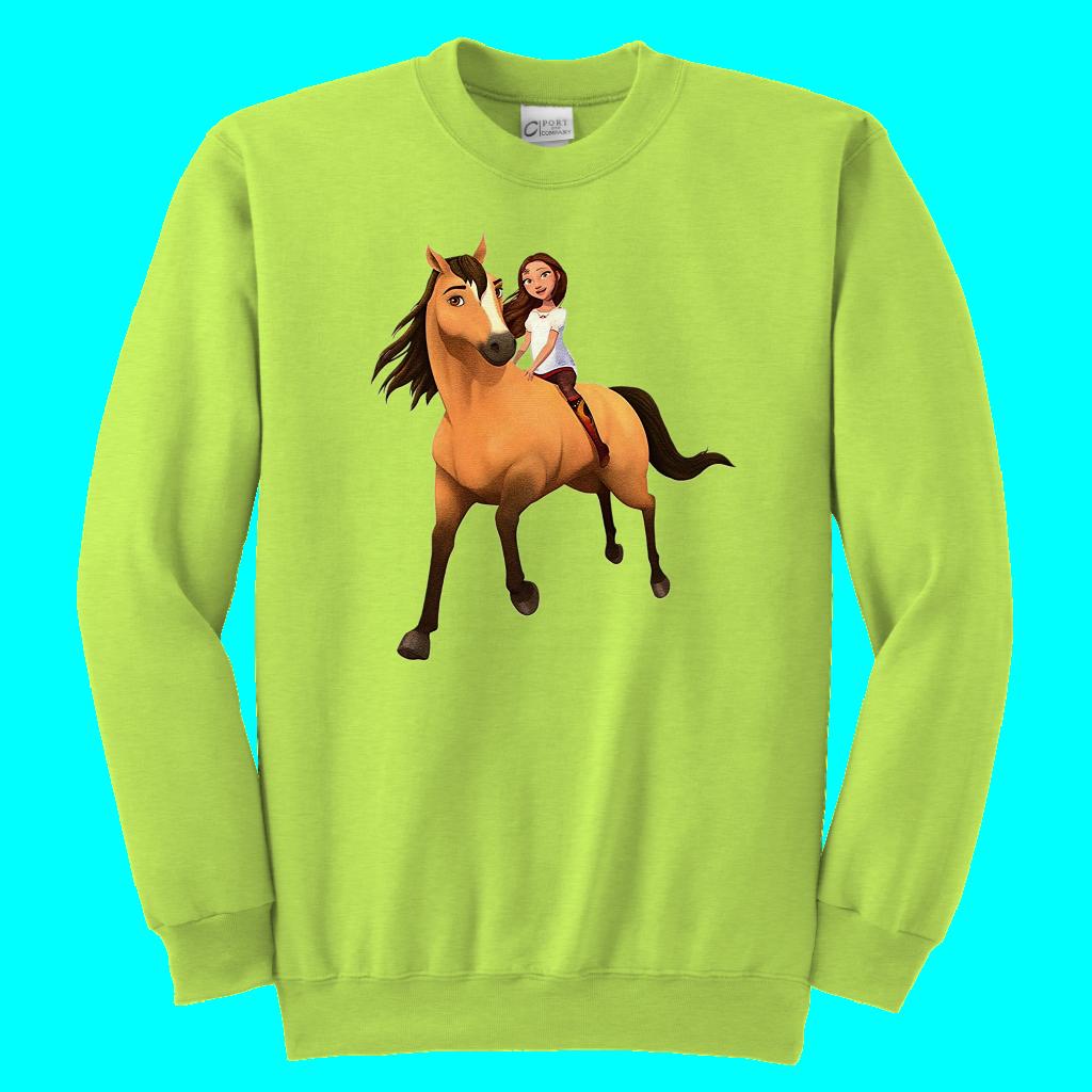 95691dcd4 Kids DreamWorks Spirit Riding Free - Lucky & Spirit T-Shirt | Kids ...