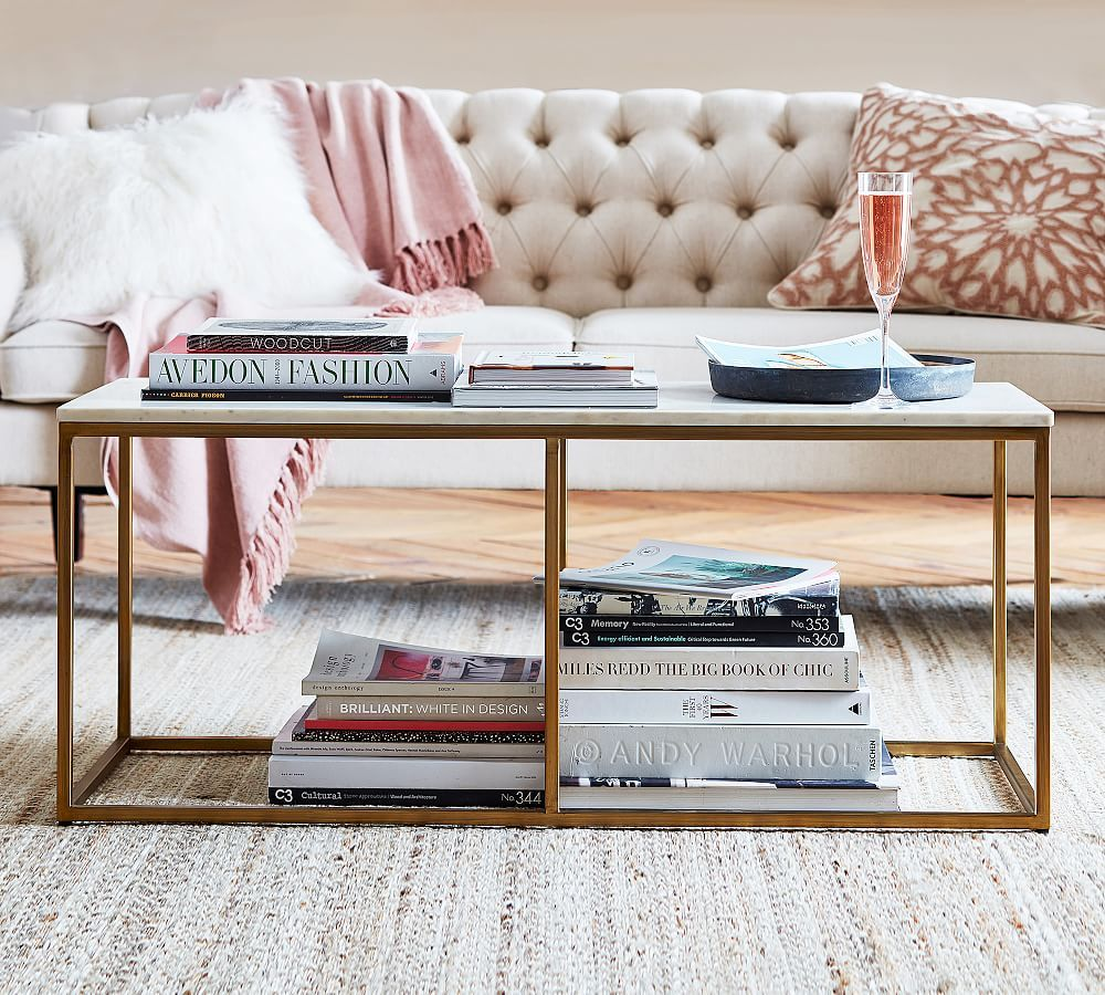 Delaney Marble Rectangular Coffee Table Pottery Barn Coffee Table Pottery Barn Rectangular Coffee Table Marble Round Coffee Table [ 900 x 1000 Pixel ]