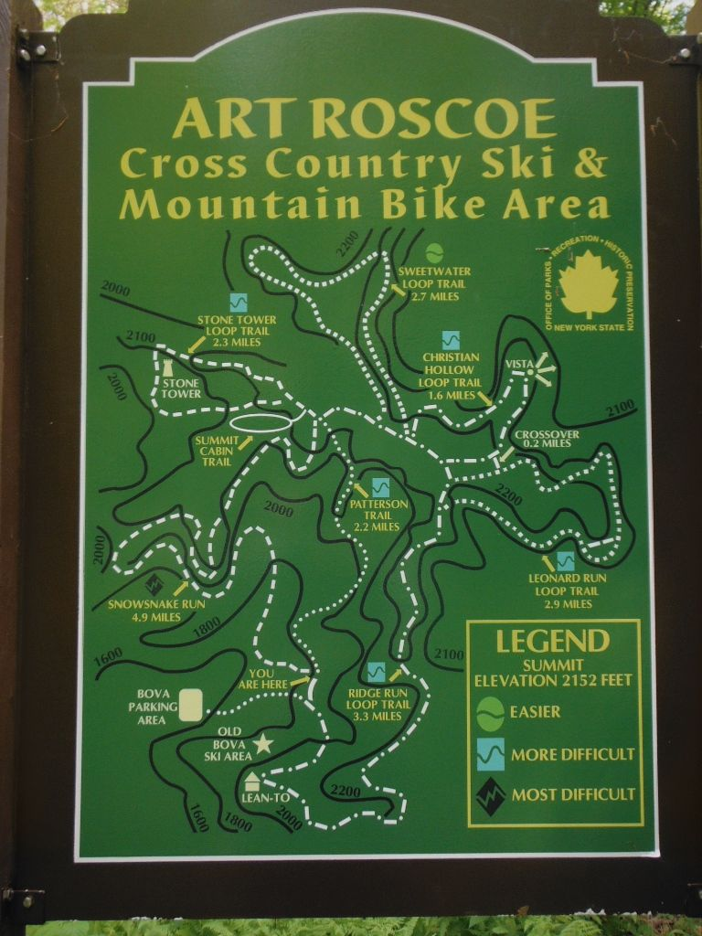 Hike To The Summit Area Lean Tos In Allegany State Park Mountain Biking Trail Signs Mtb Trails