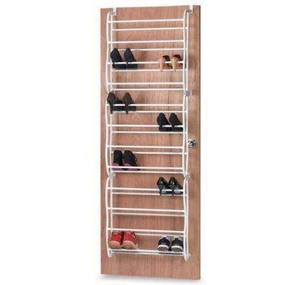Great 36 Pair Over The Door Shoe Organizer! This Over The Door Rack Keeps Shoes  Organized And Out Of Sight. Simply Hang On A Door To Maximize Your Storage  Space.