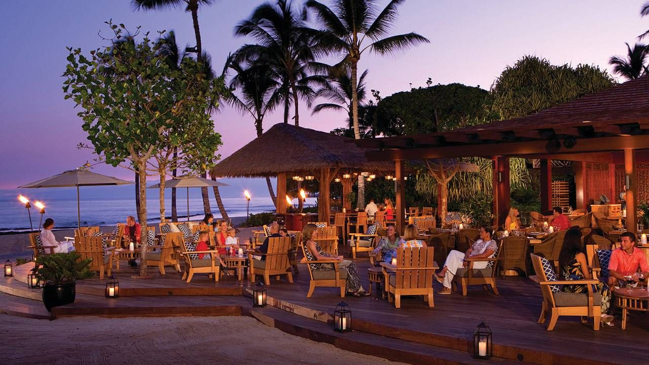 Beach Tree Hawaii Restaurants Four Seasons Hualalai