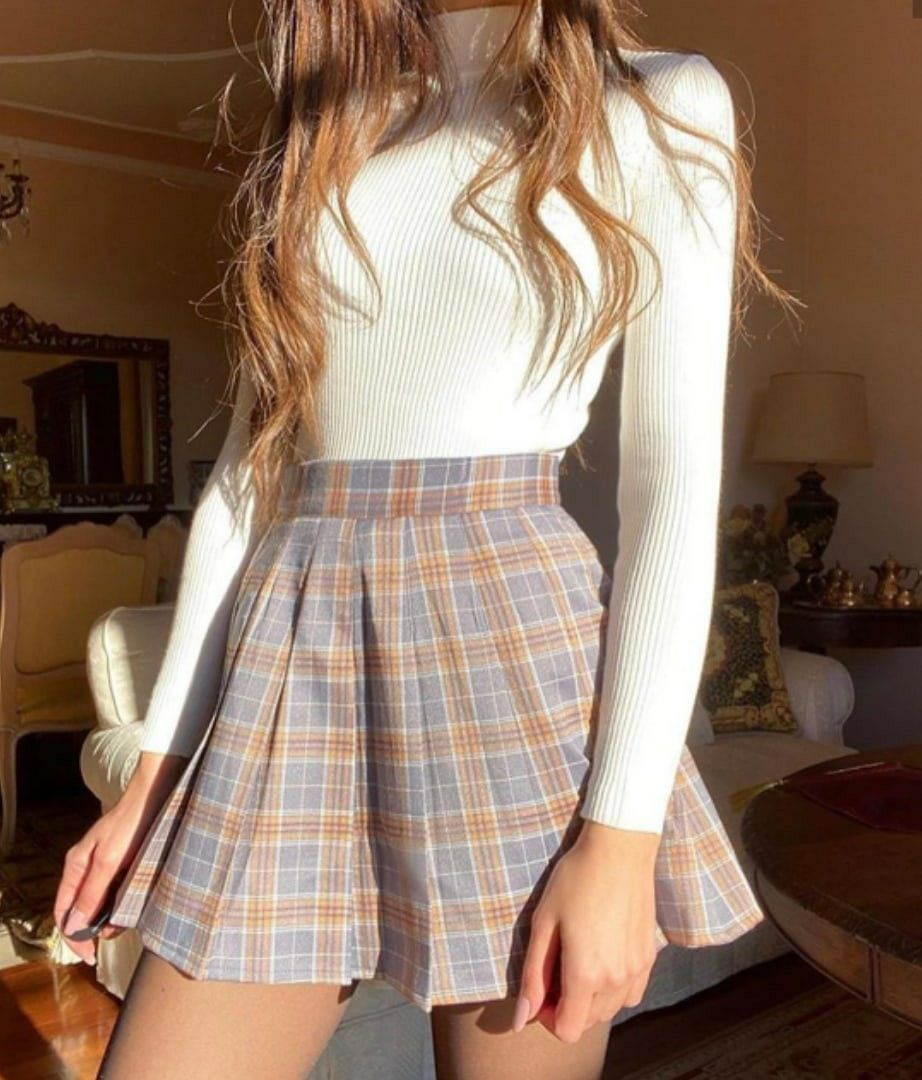 Look Fashion Soft Girl Vsco Girl In 2020 Pretty Outfits Beautiful Outfits Aesthetic Clothes