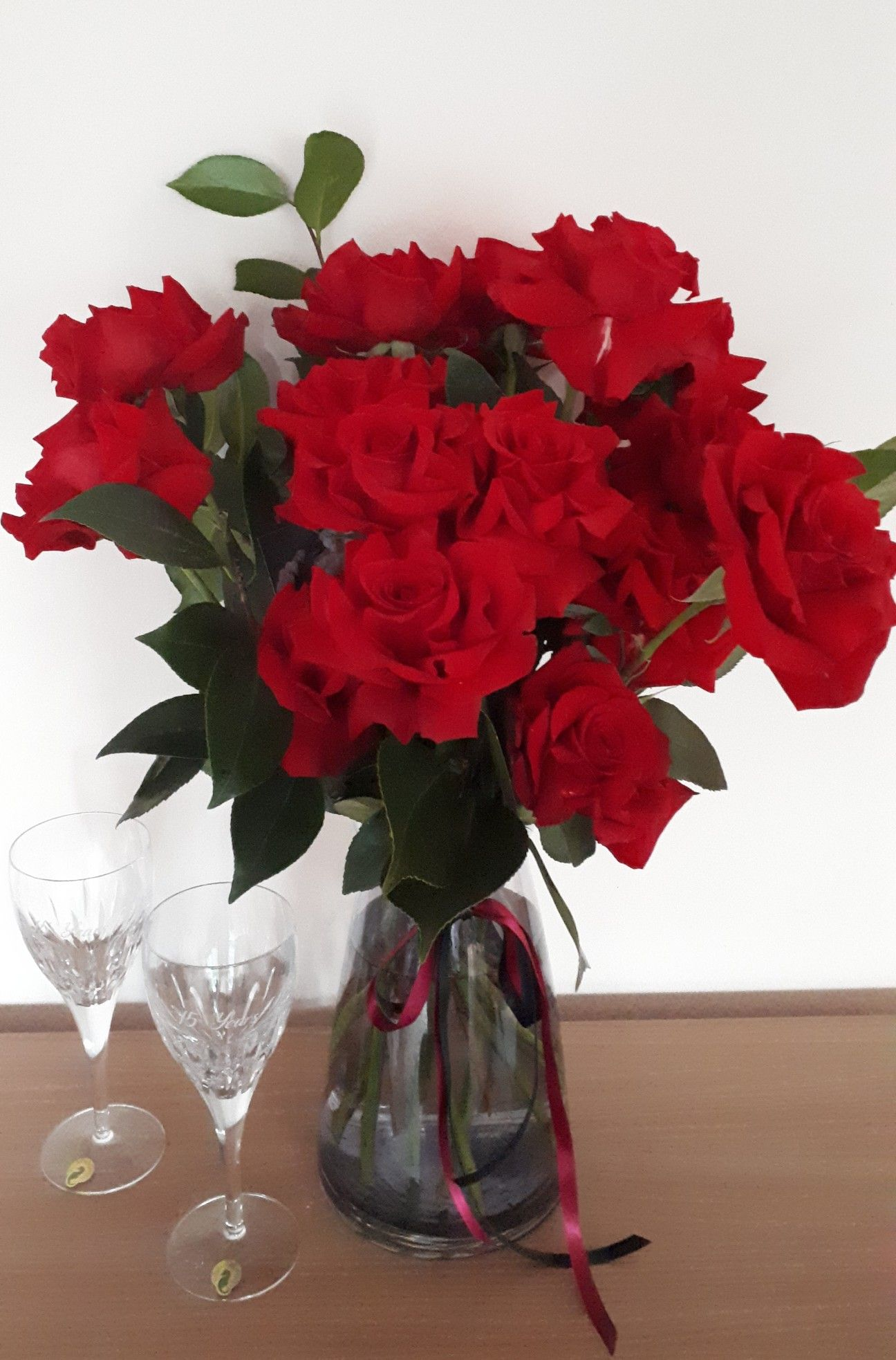 Roses always stunning and romantic Outdoor birthday