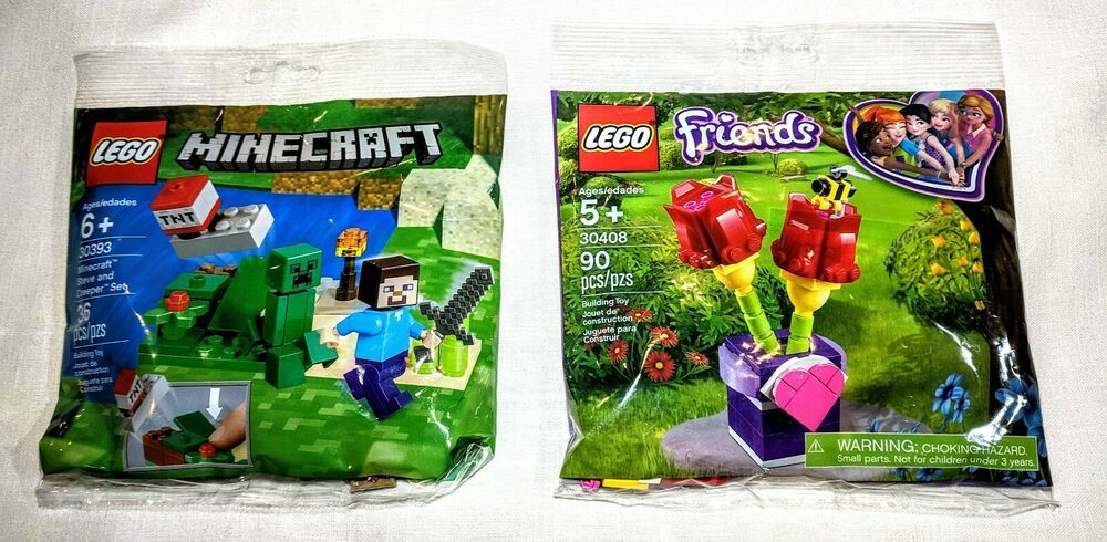 LEGO MINECRAFT STEVE AND CREEPER 30393 NEW//SEALED