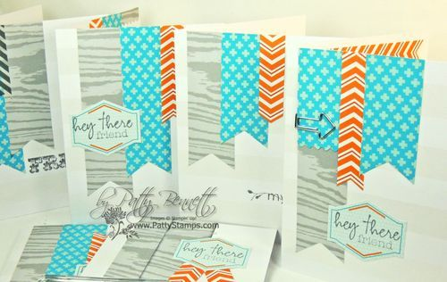www.PattyStamps.com - On It's Way Simply Sent Card kit from Stampin Up