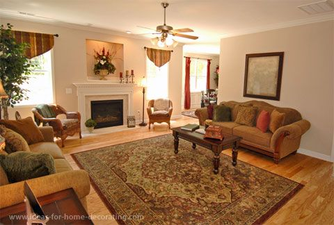 Living Room Decorating Ideas With Oriental Rugs | The Rug Is A Vital  Unifying Factor In