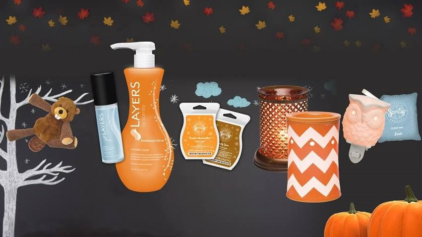 Fall goodies galore order at scentsy