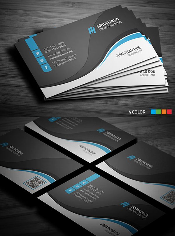 Professional Business Card | Business Card | Pinterest | Business ...