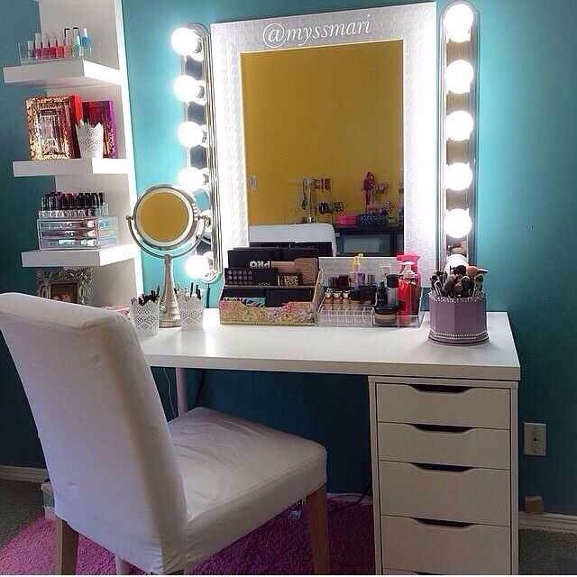 Cute Vanity Beauty Room Vanity Room