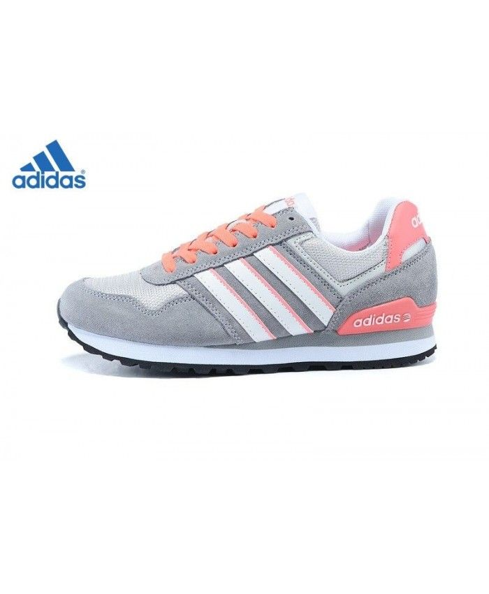 adidas neo gris et orange