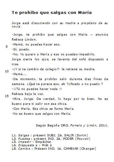 Troisieme Que Pasa En La 212 Vocabulaire Espagnol Espagnol Apprendre Espagnol