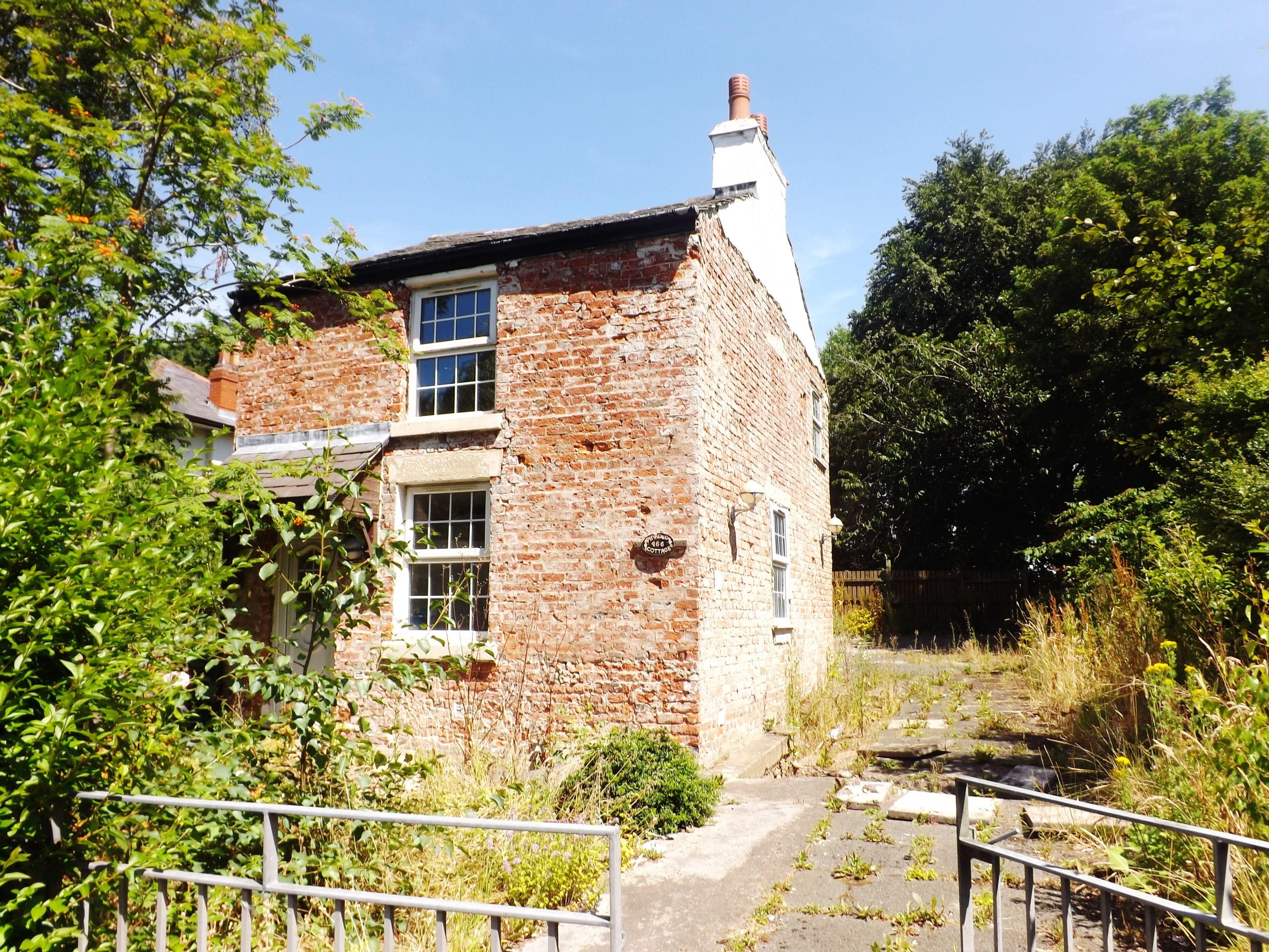 Toll bar cottage broughton undergoing restoration lancashire