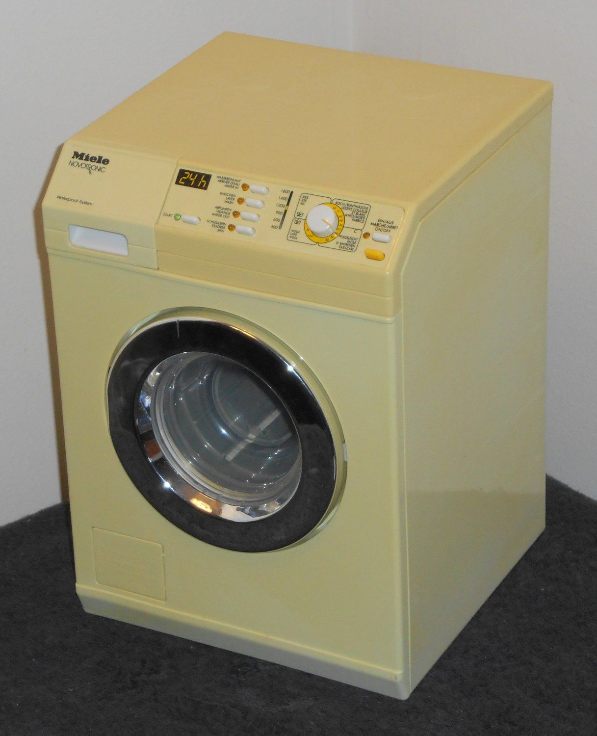 For Sale Miele Novotronic Doll Toy Clothes Washer Washing Machine Theo Klein Battery Operated Washing Machine Clothes Washer Doll Toys