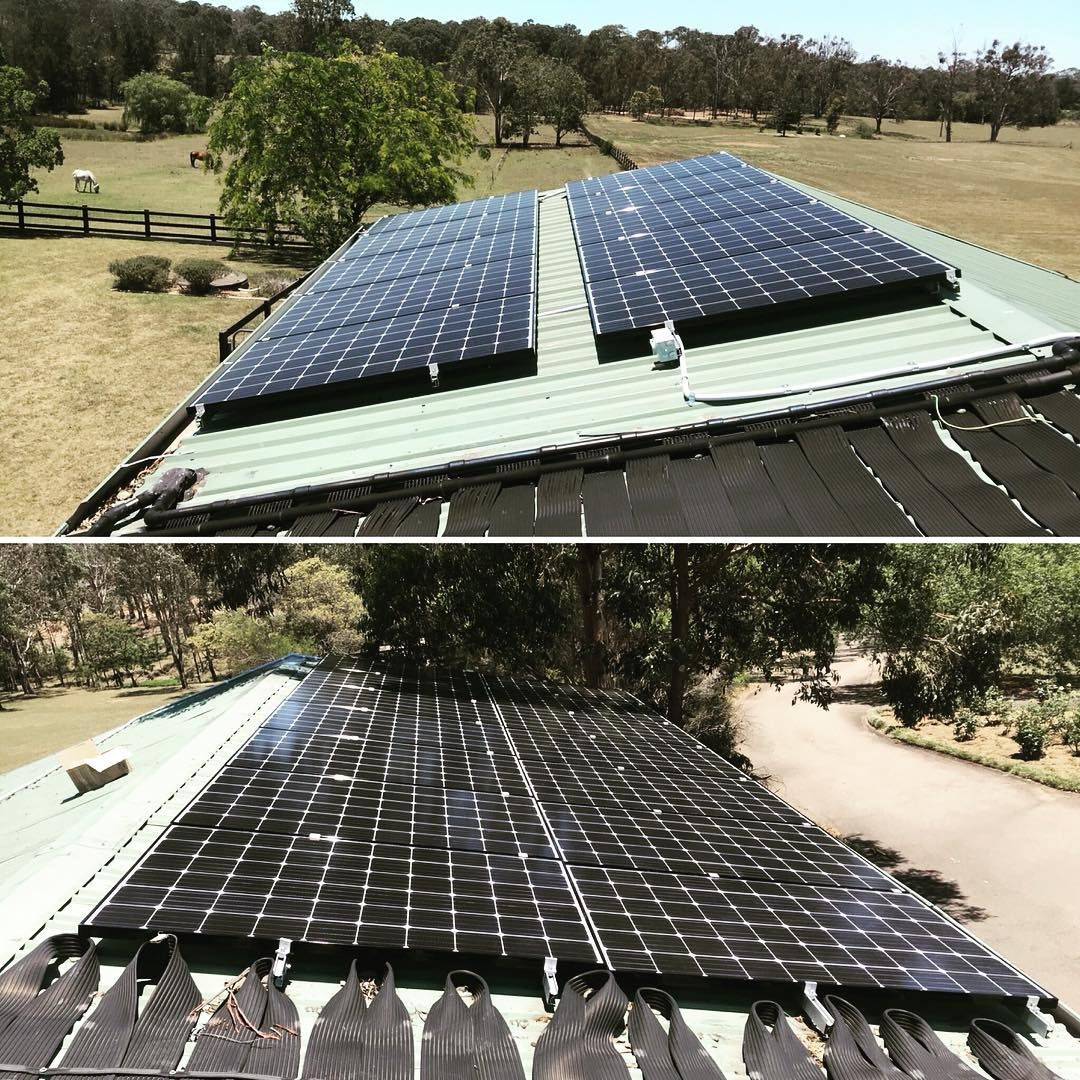 Good start to the week with this 7kw Solar installation - - - - x24 ...