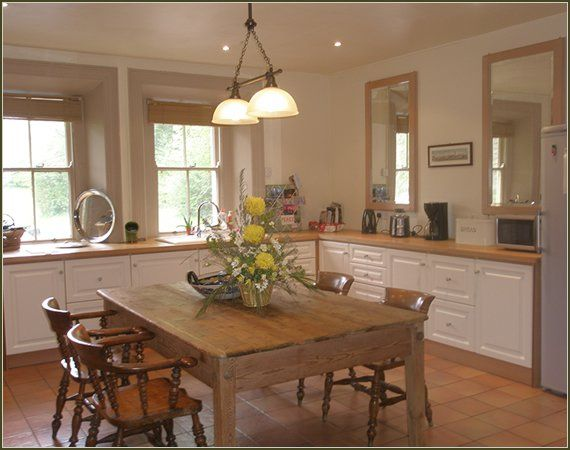 another view of the kitchen at Coolatore House