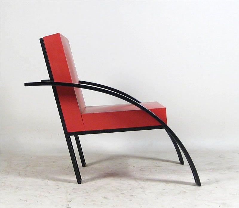 Chair Design Basics Stoke High Parigi Stoel Aldo Rossi Modern Chairs Stools Relax Memphis