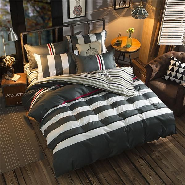 Marvelous Cheap Doona Cover Set, Buy Quality Cover Set Directly From China Linen  Quilt Suppliers: Fashion Simplicity Twin/Full/Queen/King Size Bedding Linen  ...