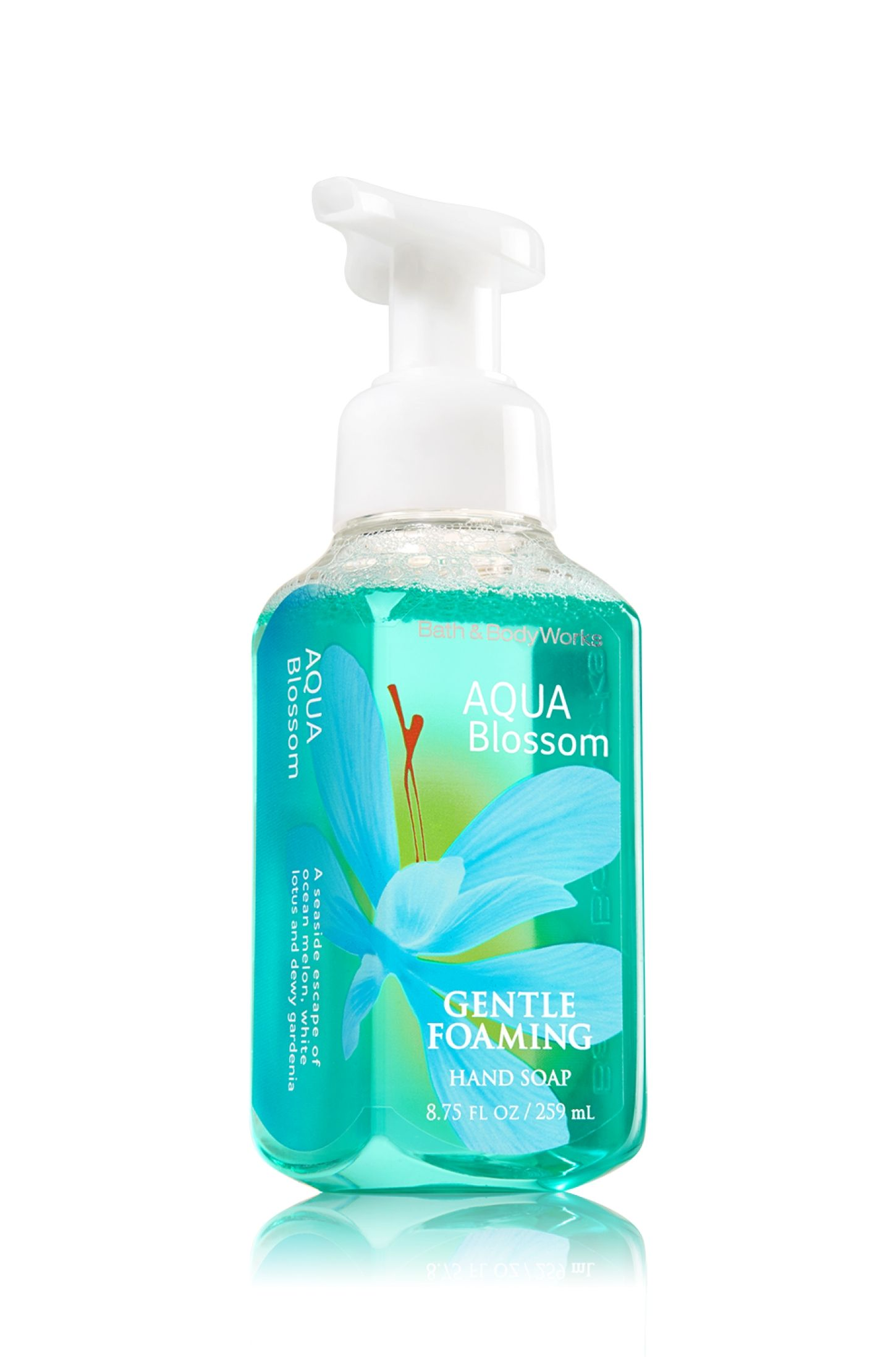 Aqua Blossom Gentle Foaming Hand Soap Soap Sanitizer Bath