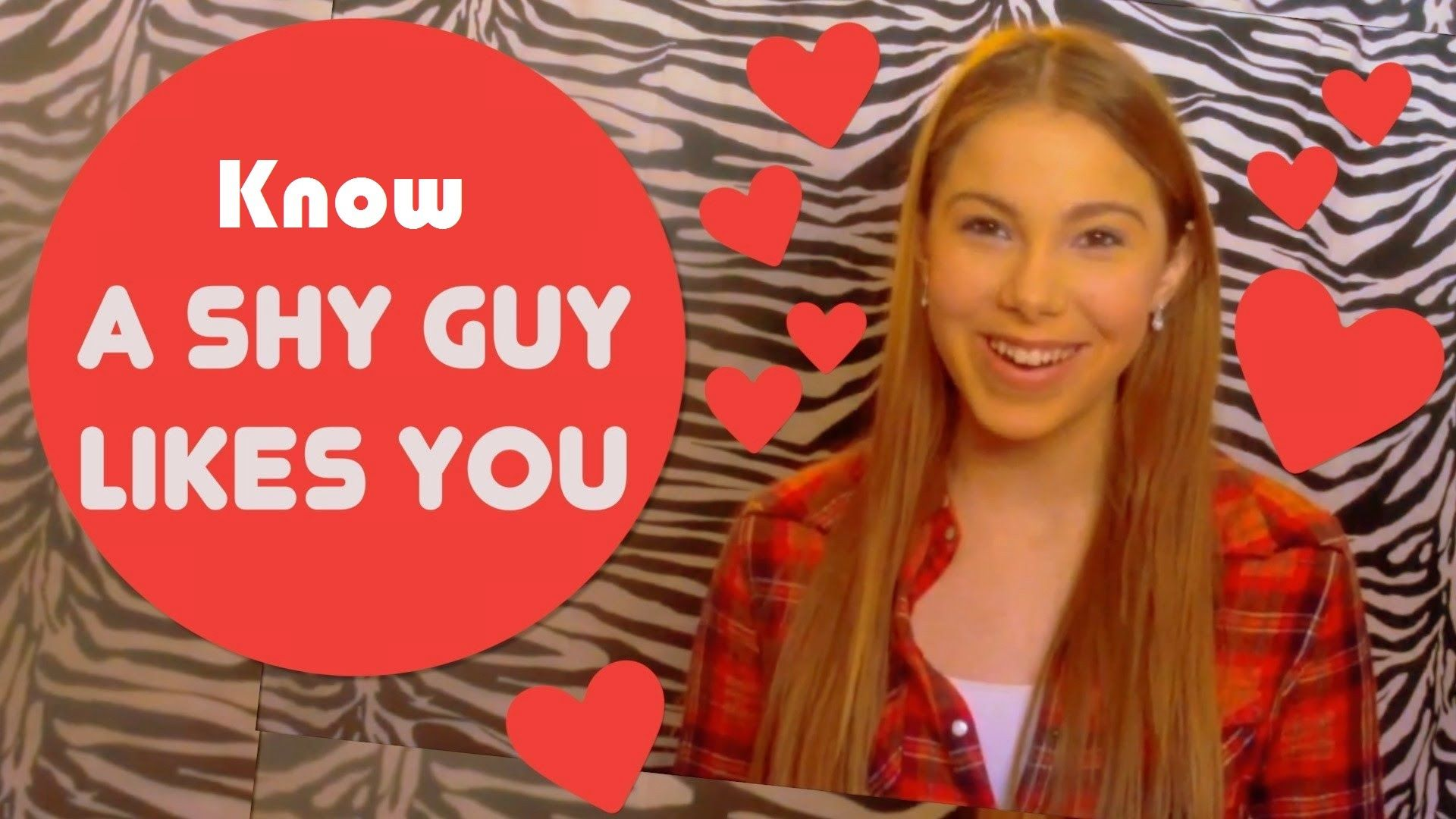 How to know if a shy guy likes you