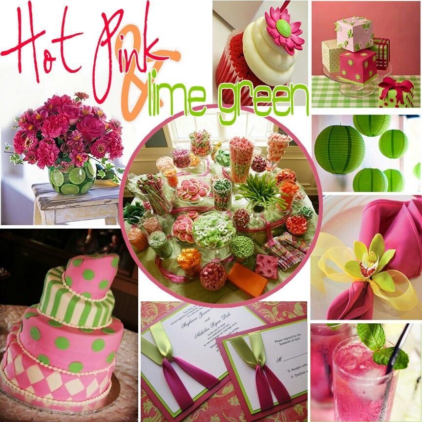 Lime Green Weddings, Lime Green