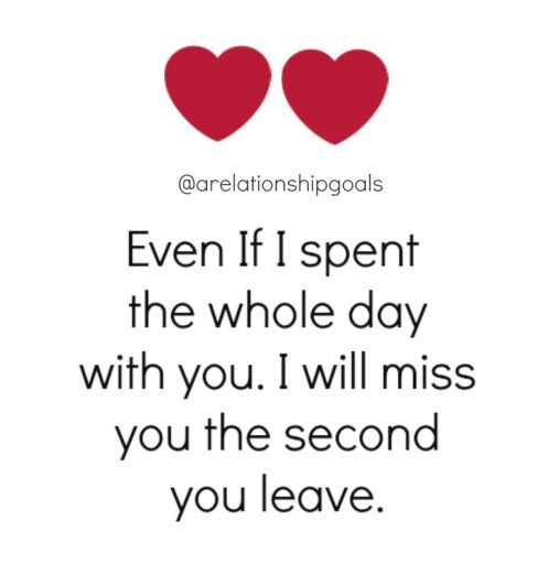 It's so true. I saw him yesterday and I miss him so much ...